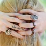 Por quê eu gosto de usar anel no anelar? Ou indicador?