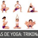 Asanas de Yoga: Trikonasana