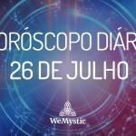 Horóscopo do dia 26 de julho de 2017