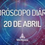 Horóscopo do dia 20 de Abril de 2018: previsões para esta sexta‐feira