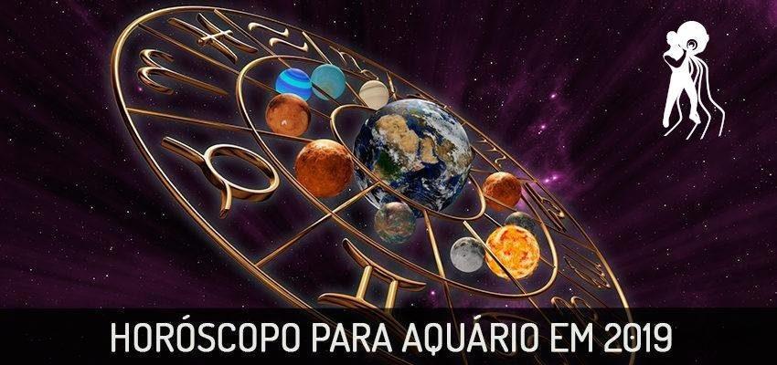 Previsão Completa do Horóscopo Aquário 2019