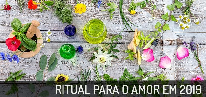 Ritual para o amor em 2019: cristais, flores e felicidade!