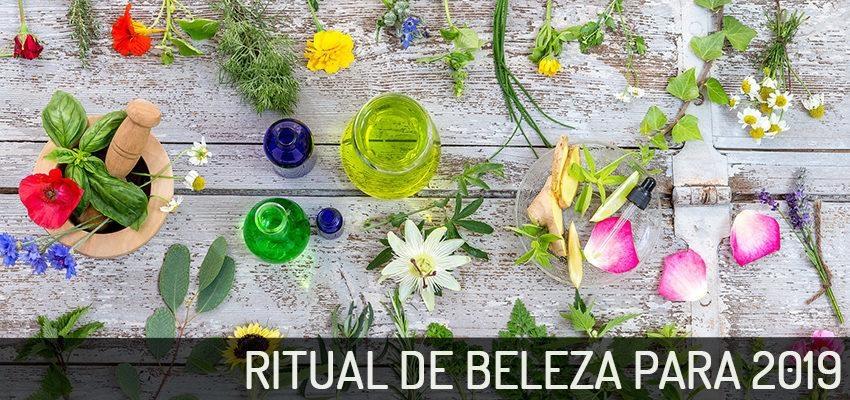Ritual de beleza para 2019: receitas naturais para cabelos, rosto e corpo
