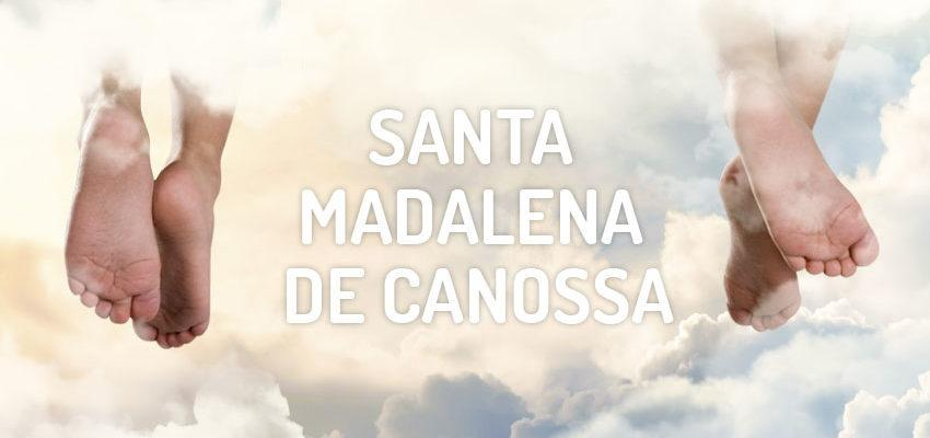 Santo do dia 10 de abril: Santa Madalena de Canossa