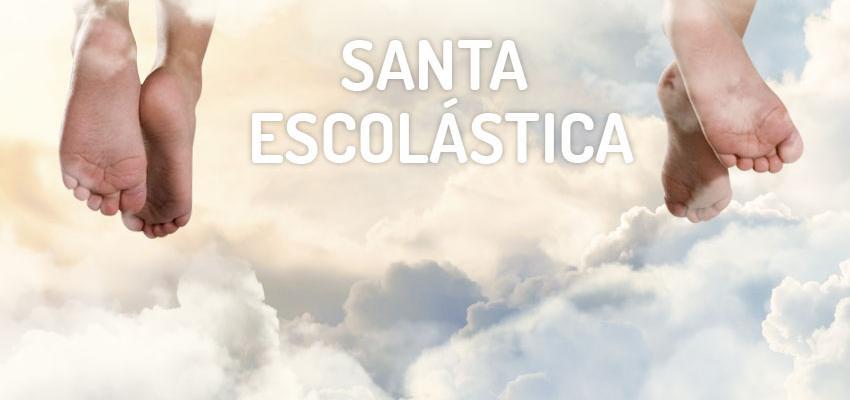 Santo do dia 10 de fevereiro: Santa Escolástica