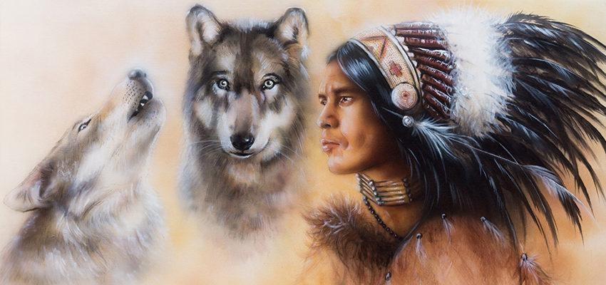 Lenda cherokee dos lobos interiores: como é você?