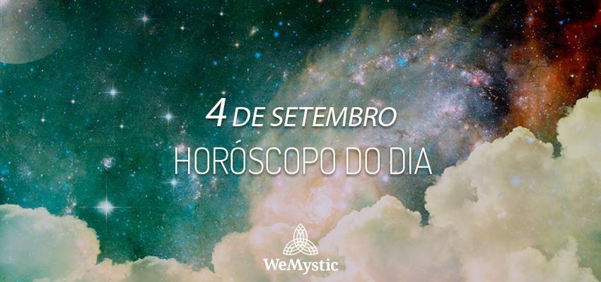 Horóscopo do dia 4 de Setembro de 2019: previsões para esta quarta-feira