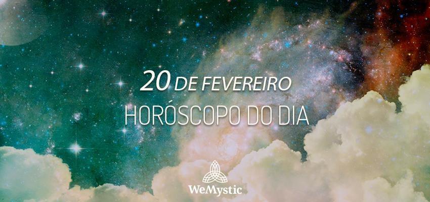 Horóscopo do dia 20 de Fevereiro de 2019: previsões para esta quarta-feira