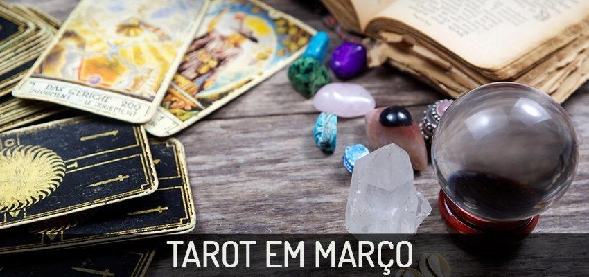 Previsões Tarot do mês para cada signo para Março