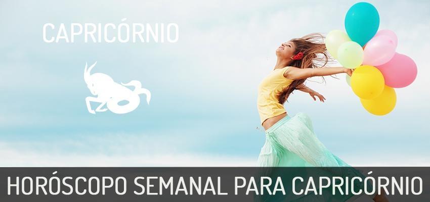 Horóscopo Semanal | Capricórnio