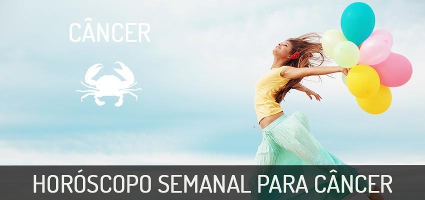 Horóscopo Semanal | Câncer