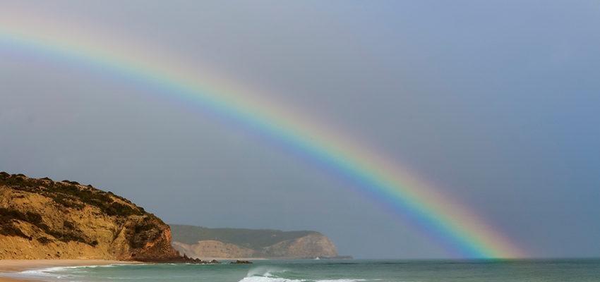 A mágica e o significado espiritual do arco-íris