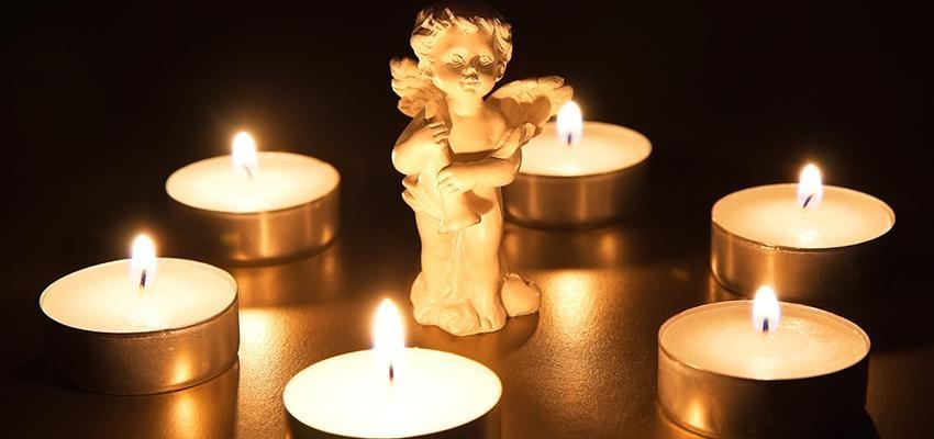 Vela para o anjo da guarda – fortaleça a conexão com seu anjo
