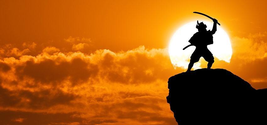 9 lições para a vida da filosofia samurai