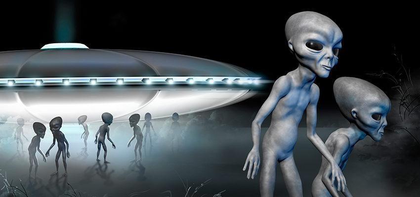 Os extraterrestres que visitam a Terra estão mortos