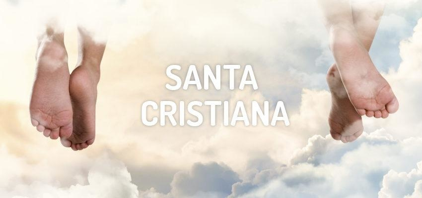 Santo do dia 15 de dezembro: Santa Cristiana