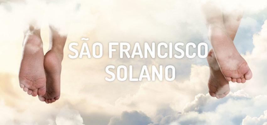 Santo do dia 18 de julho: São Francisco Solano