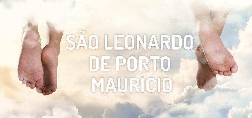 Santo do dia 26 novembro: São Leonardo de Porto Maurício