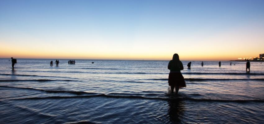 Banho de Iemanjá para aumentar a conexão com a Rainha do Mar