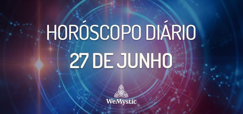 Horóscopo do dia 27 de Junho de 2018: previsões para esta quarta-feira