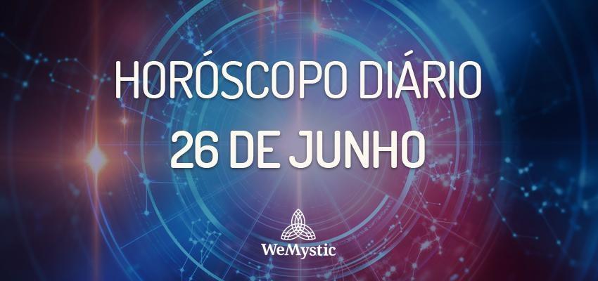 Horóscopo do dia 26 de Junho de 2018: previsões para esta terça-feira