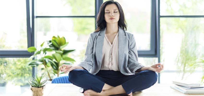 Faça Meditação no Trabalho...e recupere a sua vitalidade!