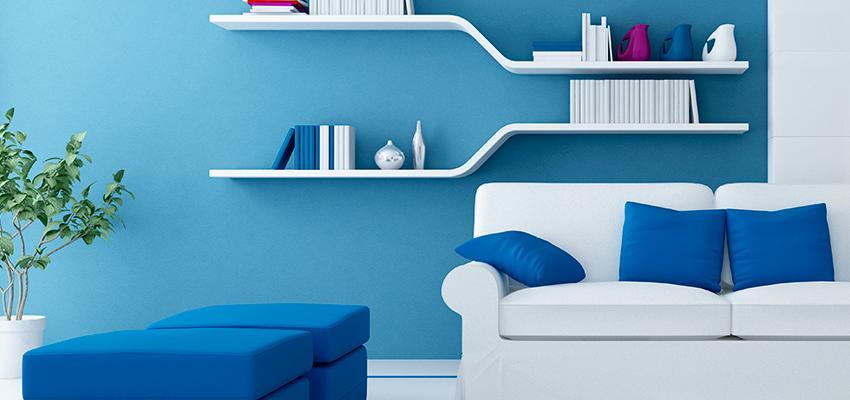 A influência das cores na parede, piso e teto