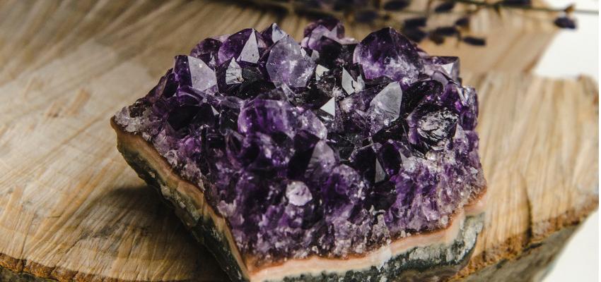 Ametista – como fazer limpeza e energização da pedra