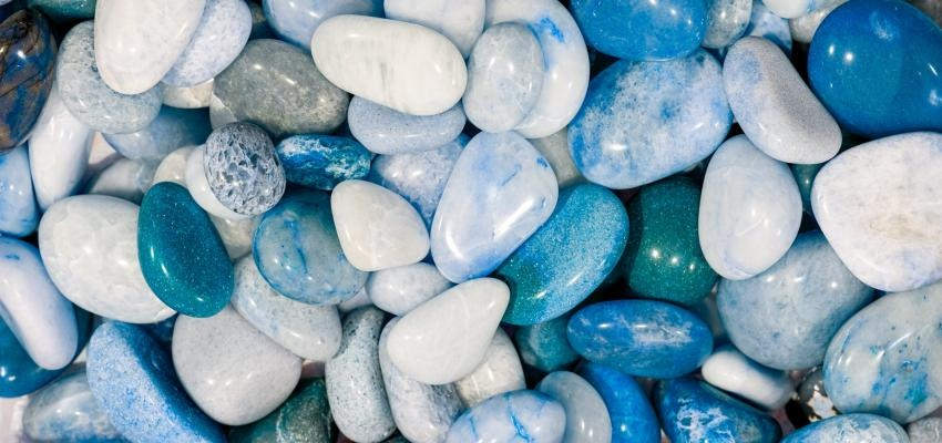 Os poderes do quartzo azul para o corpo e a mente