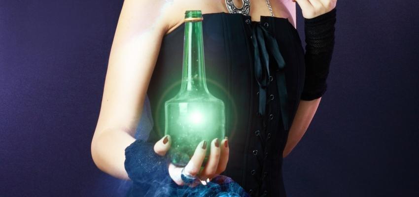 Garrafa de bruxa: aprenda esta arte de proteção