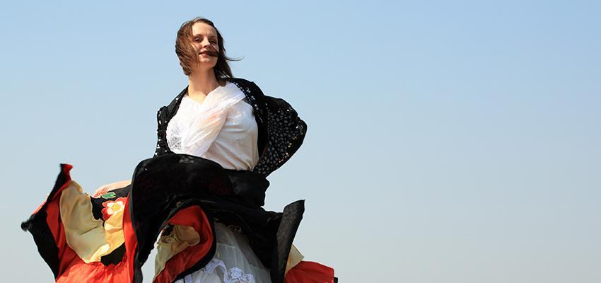 Cigana Conchita - a cigana dançarina