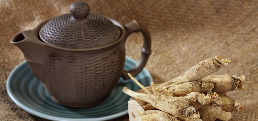 Conheça o poder do chá de ginseng