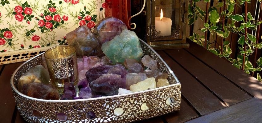 Cristais de Ano Novo - ritual para ter paz, amor e prosperidade