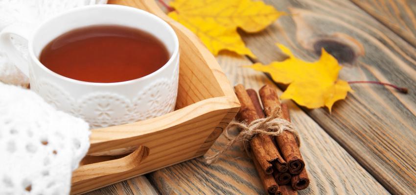 Conheça o poder do chá de canela