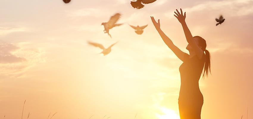 Desenvolva a sua espiritualidade em dois passos