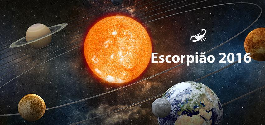 Previsão Completa do Horóscopo 2016 para Escorpião
