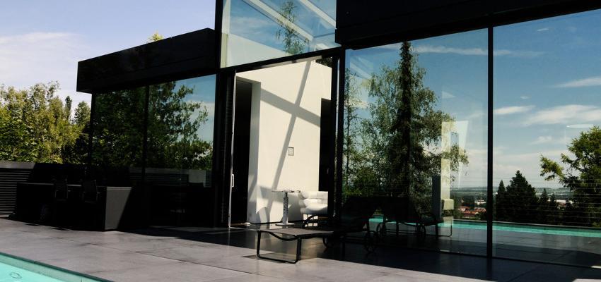 Fachada preta – os efeitos de ter a fachada pintada na cor preta