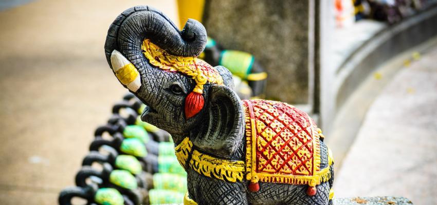Feng Shui - o significado de ter um símbolo de elefante na decoração