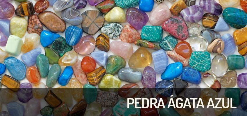 Pedra Ágata Azul: para cura dos ouvidos, da garganta e da mente