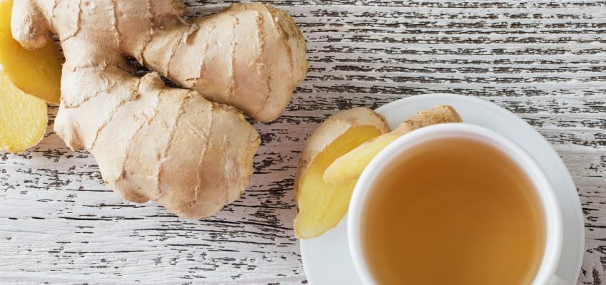 Conheça o poder do chá de gengibre