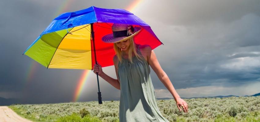 Simpatia de Santa Clara para parar de chover