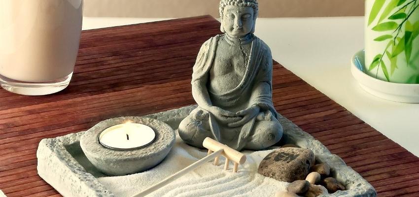 Harmonia e meditação - conheça os benefícios do Jardim Zen