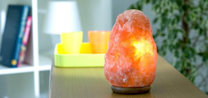 Sal do Himalaia: a luminária de sal