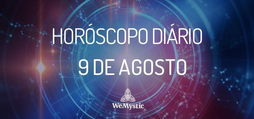 Horóscopo do dia 9 de agosto de 2017: previsões para esta quarta-feira!