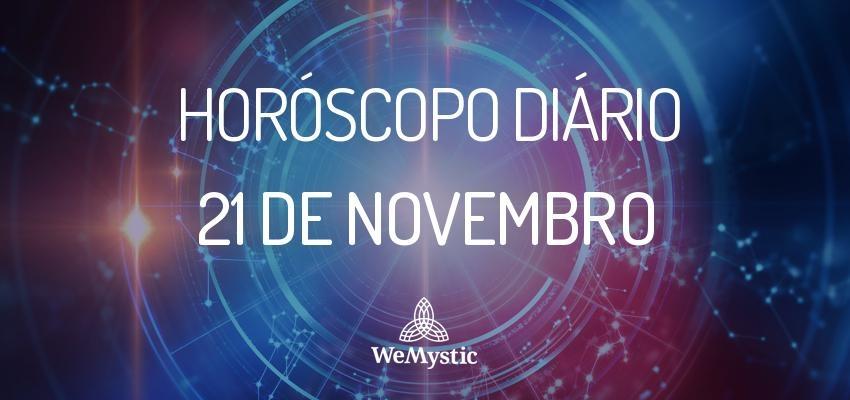 Horóscopo do dia 21 de Novembro de 2017: previsões para esta terça-feira