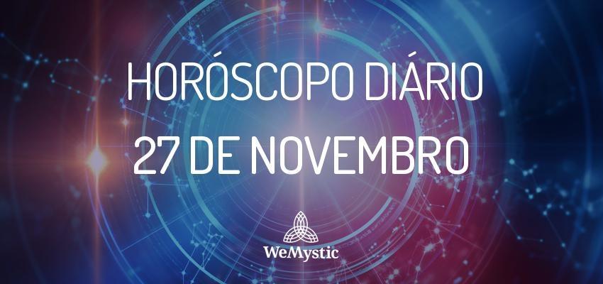 Horóscopo do dia 27 de Novembro de 2017: previsões para esta segunda-feira