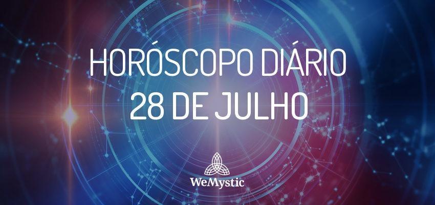 Horóscopo do dia 28 de julho de 2017