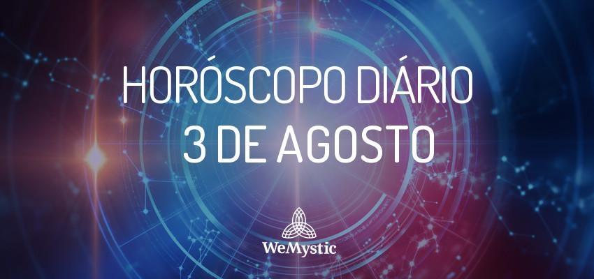 Horóscopo do dia 3 de agosto de 2017