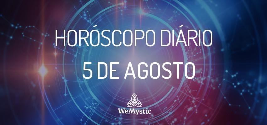 Horóscopo do dia 5 de agosto de 2017: previsões para este sábado!