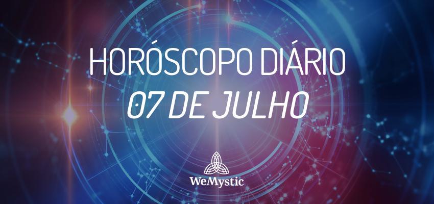 Horóscopo do dia 7 de julho de 2017